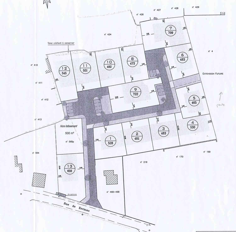 terrains à vendre  Plozevet