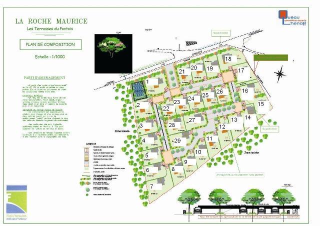 Terrains à vendre sur La Roche Maurice