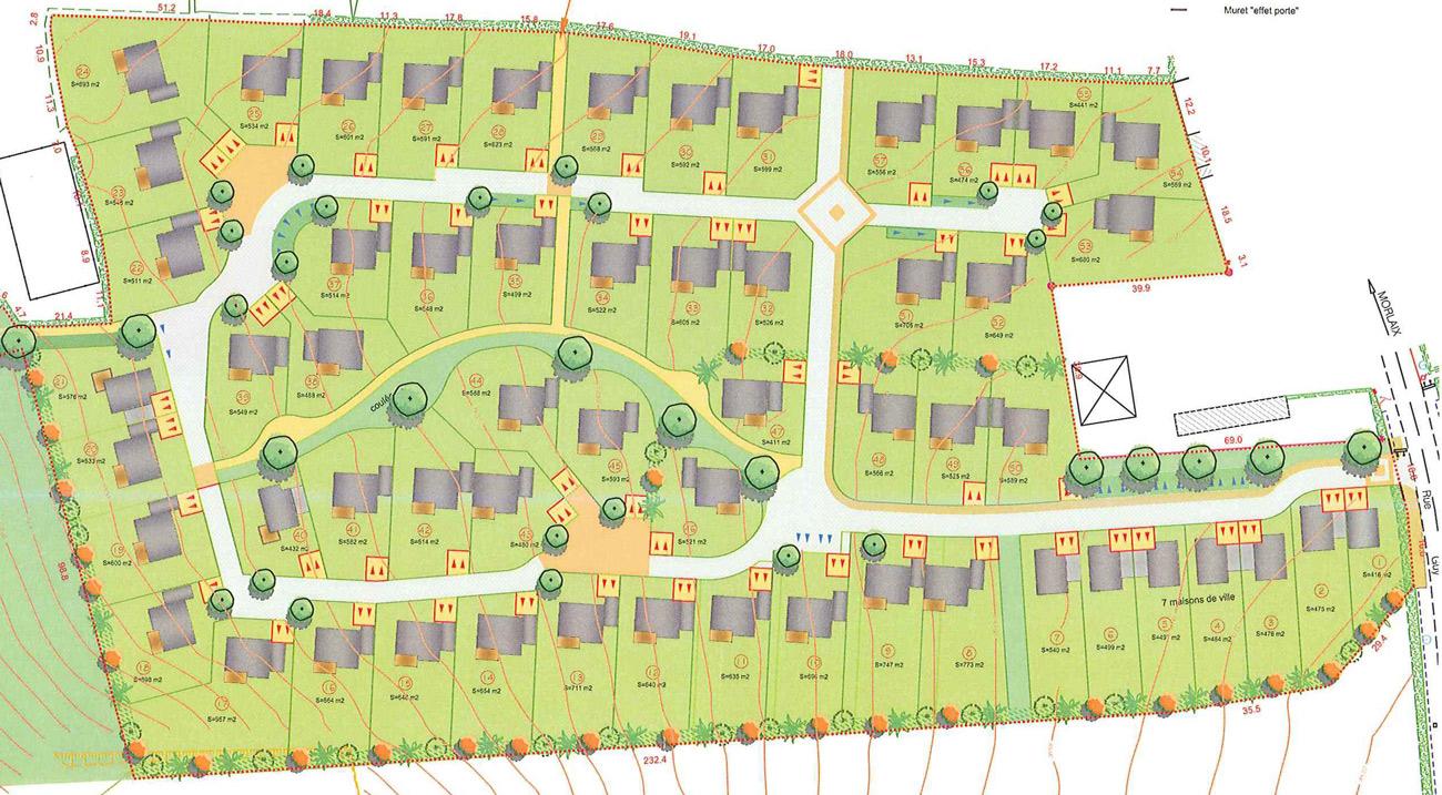 Terrains à vendre sur Plourin les Morlaix