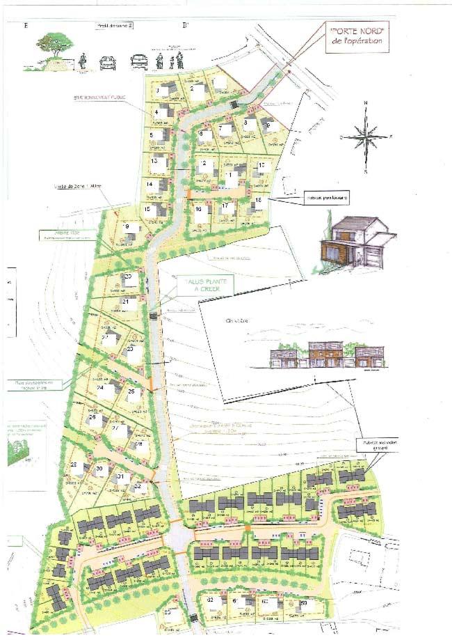A vendre terrains proche Brest